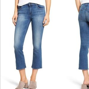 DL1961 Jeans Lara Cropped Flare Jeans Fauna 29